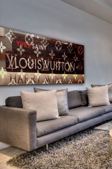 Louis Vuitton/Yves Saint Laurent Painting