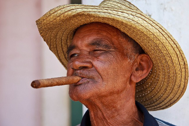 A-man-with-traditional-straw-hat-and-cigar-Cuba-Image-by-FrankBoyd